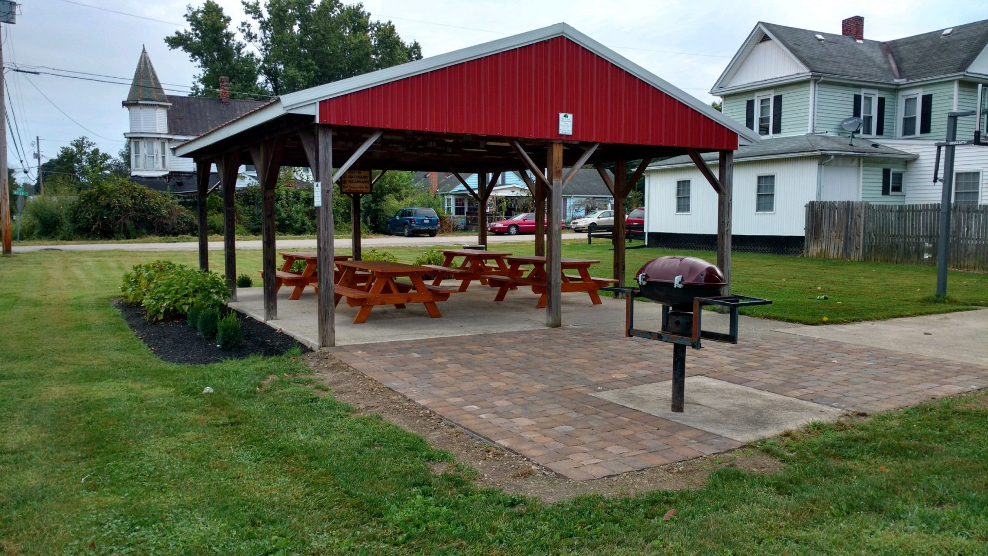 2018 Grant to the Village of Tarlton for Landscaping at Tarlton Community Park
